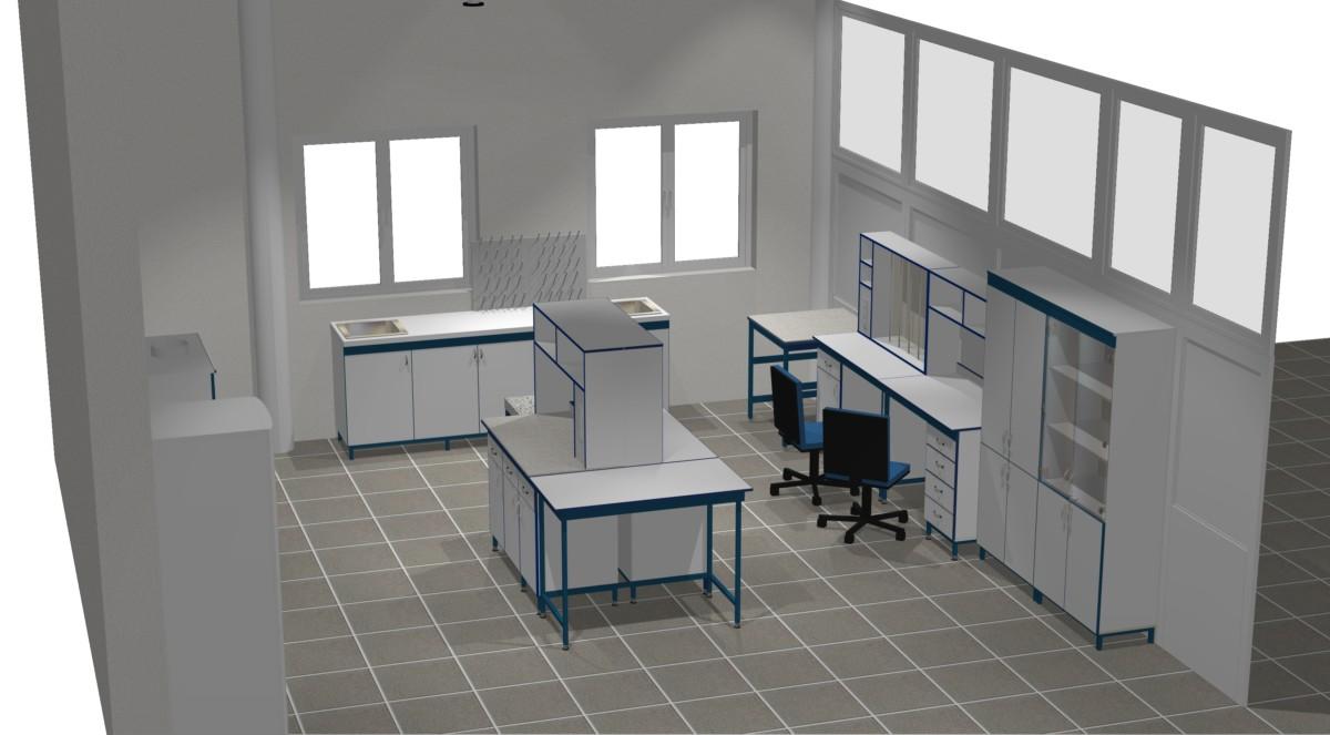 Стол передвижной СТ.СП  от завода лабораторной мебели