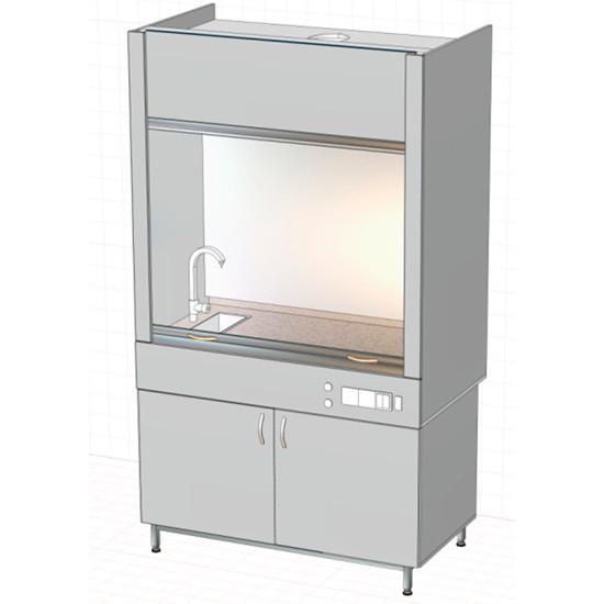 Вытяжной шкаф 1177х760х2150 мм