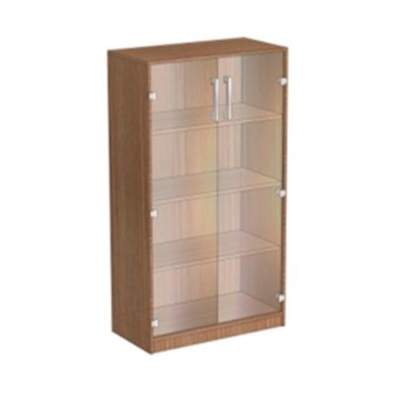 Офисный шкаф ОМ.ШДВ.14 размеры 800х400х1400 мм